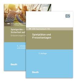 Sichere Spielplätze und Spielgeräte von Agde,  Georg, Beltzig,  Günter, Danner,  Franz, Richter,  Julian, Settelmeier,  Detlef