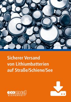 Sicherer Versand von Lithiumbatterien auf Straße/Schiene/See – Präsentation