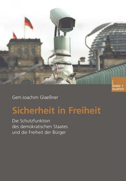 Sicherheit in Freiheit von Glaessner,  Gert-Joachim