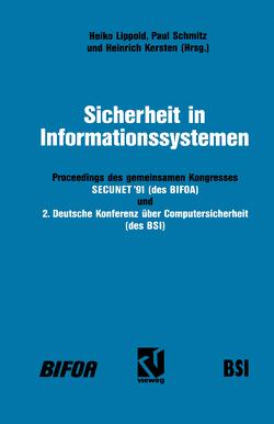 Sicherheit in Informationssystemen von Lippold,  Heiko