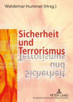 Sicherheit und Terrorismus von Hummer,  Waldemar