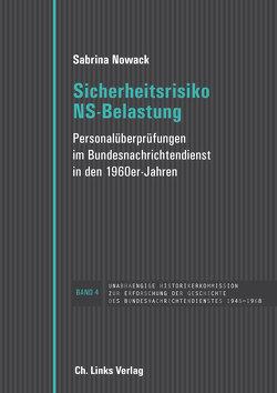 Sicherheitsrisiko NS-Belastung von Nowack,  Sabrina