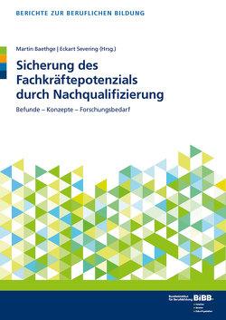 Sicherung des Fachkräftepotenzials durch Nachqualifizierung von Baethge,  Martin, BIBB Bundesinstitut für Berufsbildung, Severing,  Eckart