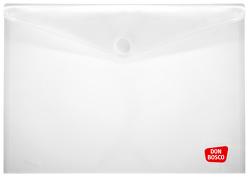 Sicht- und Schutzhülle für Kamishibai-Bildkarten, DIN A3, mit Klettverschluss, transparent, Vorteilspack mit 10 Exemplaren