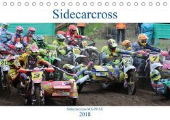 Sidecarcross (Tischkalender 2018 DIN A5 quer) von MX-Pfau,  k.A.