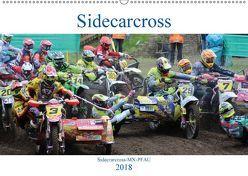 Sidecarcross (Wandkalender 2018 DIN A2 quer) von MX-Pfau,  k.A.