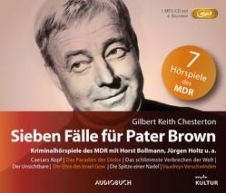 Sieben Fälle für Pater Brown (Sonderausgabe) von Bollmann,  Horst, Chesterton,  Gilbert Keith, Holtz,  Jürgen