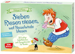 Sieben Riesen niesen, weil Nieselwinde bliesen von Kunz,  Hildegard