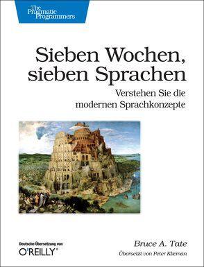 Sieben Wochen, sieben Sprachen von A. Tate,  Bruce