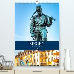 Siegener Stadtansichten (Premium, hochwertiger DIN A2 Wandkalender 2020, Kunstdruck in Hochglanz) von Nöh,  Christine
