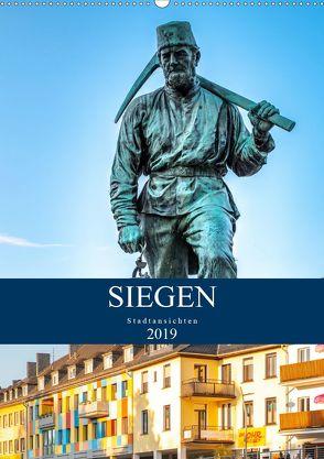 Siegener Stadtansichten (Wandkalender 2020 DIN A2 hoch) von Nöh,  Christine