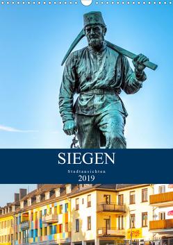 Siegener Stadtansichten (Wandkalender 2020 DIN A3 hoch) von Nöh,  Christine