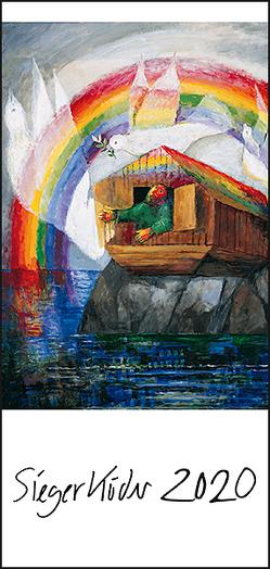Sieger Köder-Postkartenkalender 2020 von Köder,  Sieger