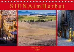 Siena im Herbst (Tischkalender 2019 DIN A5 quer) von Caccia,  Enrico