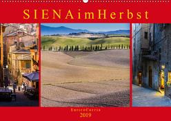 Siena im Herbst (Wandkalender 2019 DIN A2 quer) von Caccia,  Enrico