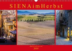 Siena im Herbst (Wandkalender 2019 DIN A3 quer) von Caccia,  Enrico