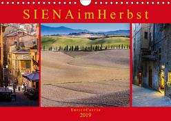 Siena im Herbst (Wandkalender 2019 DIN A4 quer) von Caccia,  Enrico