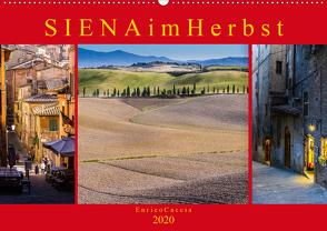 Siena im Herbst (Wandkalender 2020 DIN A2 quer) von Caccia,  Enrico