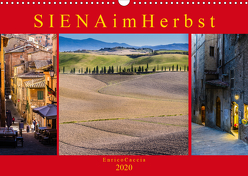 Siena im Herbst (Wandkalender 2020 DIN A3 quer) von Caccia,  Enrico