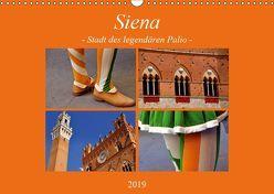 Siena – Stadt des legendären Palio (Wandkalender 2019 DIN A3 quer) von Thauwald,  Pia