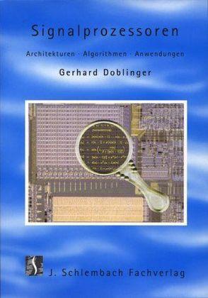 Signalprozessoren von Doblinger,  Gerhard
