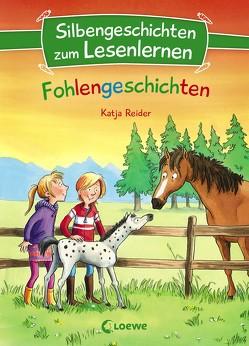 Silbengeschichten zum Lesenlernen – Fohlengeschichten von Reider,  Katja, Wiechmann,  Heike