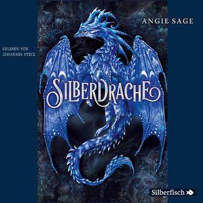Silberdrache von Sage,  Angie, Steck,  Johannes, Stratthaus,  Bernd