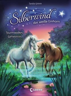 Silberwind, das weiße Einhorn 4 – Sturmwolkes Geheimnis von Christoph,  Silvia, Grimm,  Sandra
