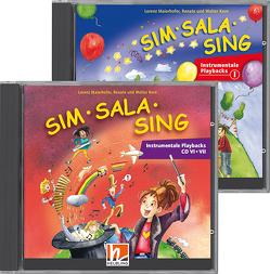 Sim Sala Sing – Alle instrumentalen Playback CDs von Kern,  Renate, Kern,  Walter, Maierhofer,  Lorenz