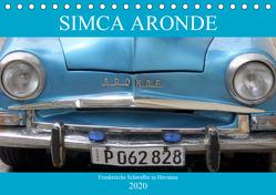 SIMCA ARONDE – Frankreichs Schwalbe in Havanna (Tischkalender 2020 DIN A5 quer) von von Loewis of Menar,  Henning