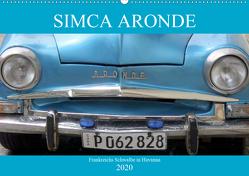 SIMCA ARONDE – Frankreichs Schwalbe in Havanna (Wandkalender 2020 DIN A2 quer) von von Loewis of Menar,  Henning