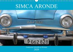 SIMCA ARONDE – Frankreichs Schwalbe in Havanna (Wandkalender 2020 DIN A3 quer) von von Loewis of Menar,  Henning