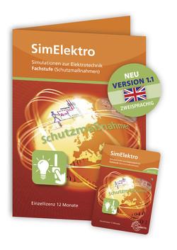 SimElektro – Fachstufe 1.0 – Schutzmaßnahmen – Keycard von Käppel,  Thomas, Nies,  Andreas, Wildenberg,  Josef T.