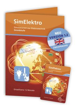 SimElektro – Grundstufe 1.0 – Simulationen zur Elektrotechnik – Keycard von Käppel,  Thomas, Wildenberg,  Josef T.
