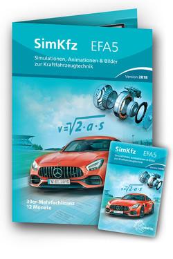 SimKFZ EFA5 – 30er-Mehrfachlizenz – Freischaltcode auf Keycard
