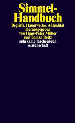 Simmel-Handbuch von Müller,  Hans Peter, Reitz,  Tilman