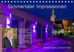 Simmertaler Impressionen (Tischkalender 2019 DIN A5 quer) von Hess,  Erhard, Speh,  Werner