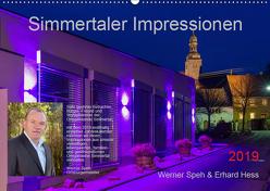 Simmertaler Impressionen (Wandkalender 2019 DIN A2 quer) von Hess,  Erhard, Speh,  Werner