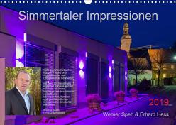 Simmertaler Impressionen (Wandkalender 2019 DIN A3 quer) von Hess,  Erhard, Speh,  Werner