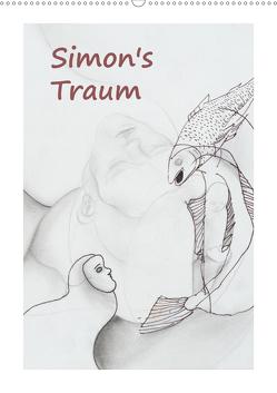 SIMON's TRAUM (Wandkalender 2021 DIN A2 hoch) von Blume,  Simon
