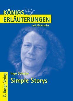 Simple Storys von Ingo Schulze. Textanalyse und Interpretation. von Munaretto,  Stefan, Schulze,  Ingo