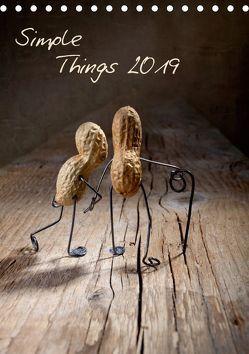 Simple Things 2019 (Tischkalender 2019 DIN A5 hoch) von Schwarz,  Nailia