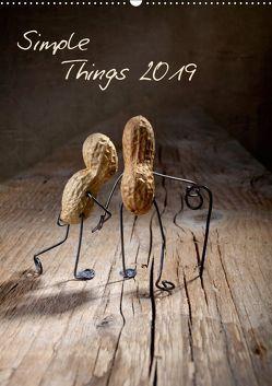 Simple Things 2019 (Wandkalender 2019 DIN A2 hoch) von Schwarz,  Nailia