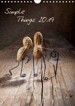Simple Things 2019 (Wandkalender 2019 DIN A4 hoch) von Schwarz,  Nailia
