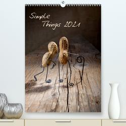 Simple Things 2021 (Premium, hochwertiger DIN A2 Wandkalender 2021, Kunstdruck in Hochglanz) von Schwarz,  Nailia