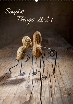 Simple Things 2021 (Wandkalender 2021 DIN A2 hoch) von Schwarz,  Nailia