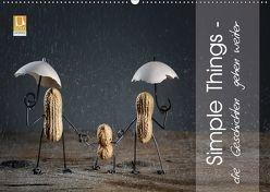 Simple Things – die Geschichten gehen weiter (Wandkalender 2018 DIN A2 quer) von Schwarz,  Nailia