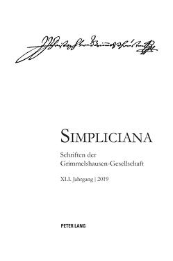 Simpliciana XLI (2019) von Heßelmann,  Peter