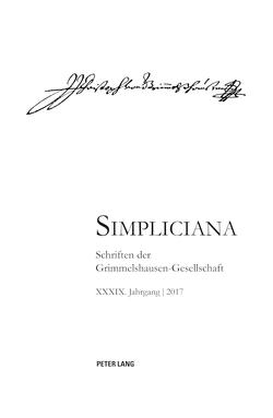 Simpliciana XXXIX (2017) von Heßelmann,  Peter