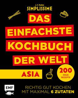 Simplissime – Das einfachste Kochbuch der Welt: Asiatische Küche von Mallet,  Jean-Francois